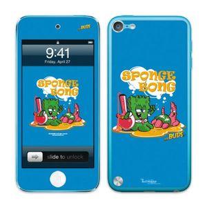 Image for Diabloskinz B0082-0066-0066 selbstklebender Vinyl Skin für Apple iPod Touch 5G Spongebong