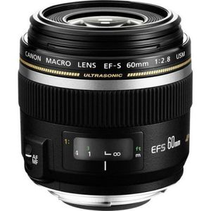 Image for Canon Objektiv EF-S 60mm F2.8 Makro USM für EOS