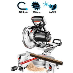 Image for GRAPHITE Handkreissäge 1800Watt mit Laser