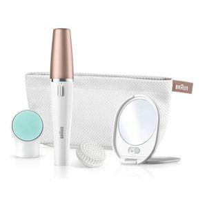 Image for Braun FaceSpa 3-in-1 Gesichtsepilierer und Reinigungsbürstensystem 851v