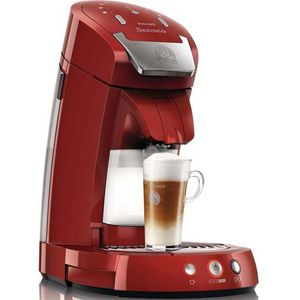Image for Philips HD7854/80 Senseo Latte Select Red