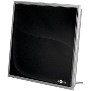 Image for Goobay Dia 90 PS Flat Aktive DVB TV-Zimmerantenne inkl. Netzteil
