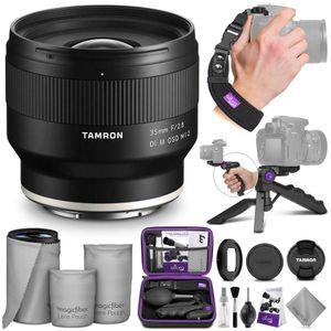 Image for Tamron 35 mm f/2.8 Di III OSD M 1:2 Objektiv für Sony E mit Altura Photo Essential Accessory Bundle