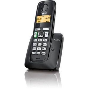 Image for Gigaset A220A schwarz Analog-Telefon
