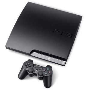 Image for Sony PlayStation 3 Slim Charcoal Black 250GB