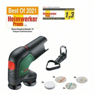 Image for Bosch 12V Akku-Tellerschleifer und Polierer EasyCurvSander12
