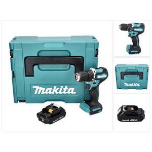 Image for Makita DDF 487 A1J Akku Bohrschrauber 18 V 40 Nm Brushless inklusive 1x Akku 2
