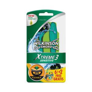Image for Wilkinson Xtreme 3 Sensitive Einwegrasierer Für Männer 8 Stück