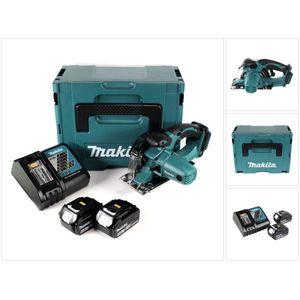 Image for Makita DCS 552 RGJ 18 V Akku Metall Handkreissäge 136 mm im Makpac + 2x 6