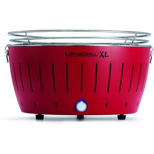 Image for LotusGrill XL Holzkohlegrill Feuerrot 435P