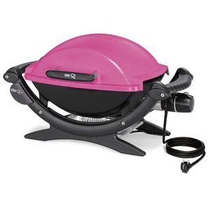 Image for Weber Q 140 Elektrogrill Pink