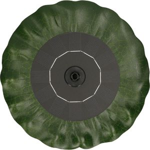 Image for Solar-Springbrunnenpumpe Solarbetriebene Springbrunnenpumpen in Lotusblattform mit verschiedenen Dusen fur die Landschaftsgestaltung des