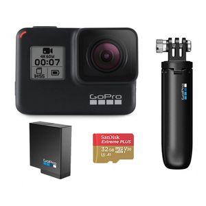 Image for GoPro HERO7 Black Holiday Bundle - wasserdichte 4K/HDR Action-Cam