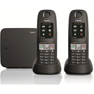 Image for Gigaset E630A Duo Analog-Telefon schwarz mit Anrufbeantworter