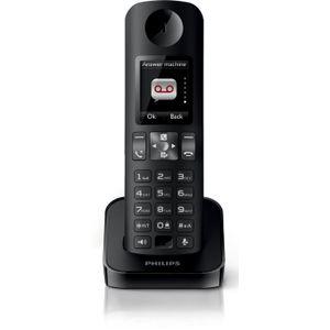 Image for Philips D605 Analog-Telefon schwarz