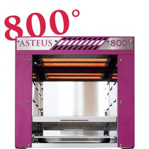 Image for Asteus -pink Willy- 800 Grad Infrarot Elektro Grill