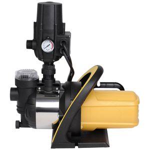 Image for Hauswasserwerk 1200 Watt für 3.800 Liter/Stunde Wasserfilter Gartenpumpe