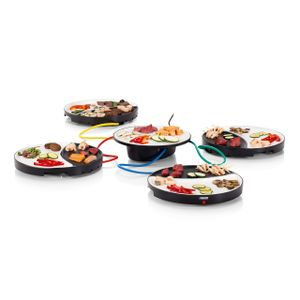 Image for Princess 01.103080.01.001 Dinner4All Tischgrill für bis zu 4 Personen - abnehmbare Porzellanplatten 103080