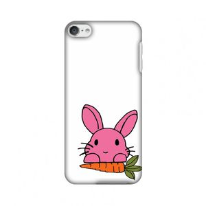 Image for AMZER Slim Designer Snap On Hard Shell Case Back Cover with Screen Care Kit for iPod Touch 6th Gen - Carrot My Favorite