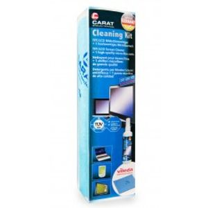 Image for Carat Cleaning Kit TFT/LCD Reiniger + Vileda-Tuch