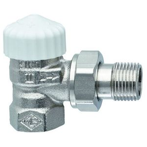 Image for Heimeier Thermostat-Unterteil V-exakt II RG vernickelt Eck 3/8