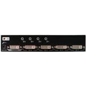 Image for 2 port DVI D single link and audio splitter DVI SPLITTER 2-POORTS