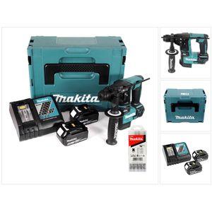 Image for Makita DHR 171 RMJ 18 V 2-stufiger Brushless Akku Bohrhammer mit SDS Plus im Makpac + 2 x 4