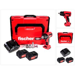 Image for Fischer FSS 18V 400 BL Akku Schlagschrauber 1-2'' 400Nm Brushless Set 3