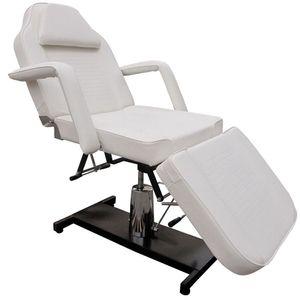 Image for Eyepower 360 Grad Massagestuhl Kosmetikstuhl Spa Kosmetikliege Behandlungsliege Weiß