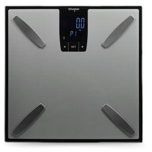 Image for Sharon Bluetooth Digitale Personenwaage Waage Wireless BT mit APP Smart Scale Körperanalysewaage für Gewicht