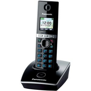 Image for Panasonic KX-TG8051GB Analog-Telefon schwarz