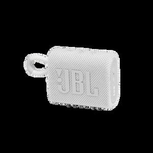 Image for JBL GO 3 Tragbarer wasserdichter Bluetooth-Lautsprecher weiß Bluetooth-Lautsprecher