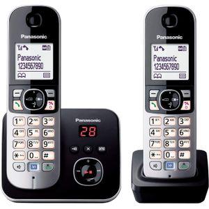 Image for Panasonic KX-TG6822GB DECT-Schnurlostelefon mit Anrufbeantworter