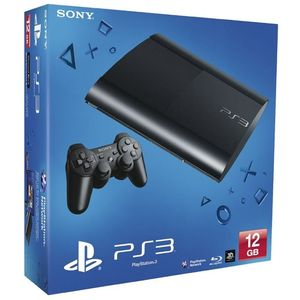 Image for Sony PlayStation 3 Super Slim Charcoal Black 12GB