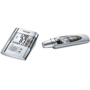 Image for Beurer Blutdruckmessgerät BM19 + Fieberthermometer FT60