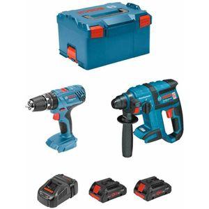 Image for Bosch Professional Kit GBH 18V-EC + GSB 18V-21