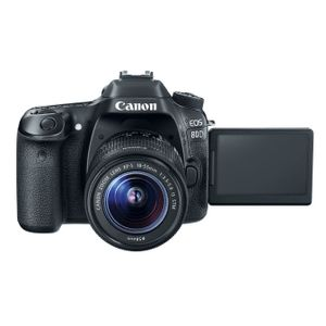 Image for Canon EOS 80D 18-55 / 3.5-5.6 EF-S IS STM