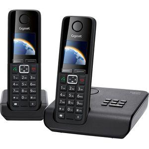 Image for Gigaset A630A Duo Analog-Telefon schwarz
