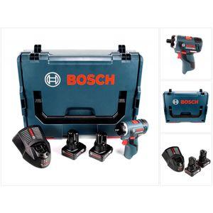 Image for Bosch Professional GSR 12V-20 HX Akku Schrauber in L-Boxx + 2 x GBA 12 V 6