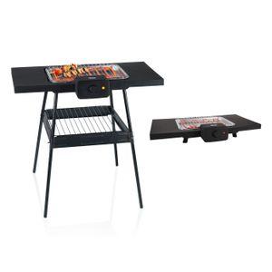 Image for Elektrogrill für Tisch mit Fuß elektrischer Balkongrill Gartengrill Campinggrill