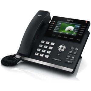 Image for Yealink SIP-T46G VoIP-Telefon schwarz