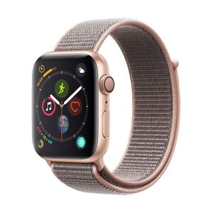 Image for Apple Watch Series 4 GPS + Cellular Aluminium 44mm Sport Loop Gold/Sandrosa Smartwatch