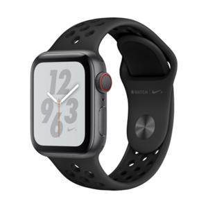 Image for Apple Watch Series 4 Nike+ GPS + Cellular Aluminium 40mm Sportarmband Space Grau/Schwarz Smartwatch
