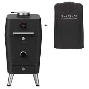 Image for Everdure 4K Kohle- und elektrischer Outdoor Ofen inkl Premium Abdeckhaube