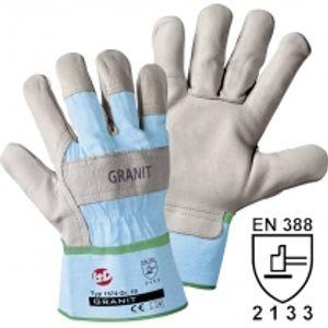 Image for Worky Leipold & Döhle Handschuh GRANIT Rindnarbenleder Größe 8
