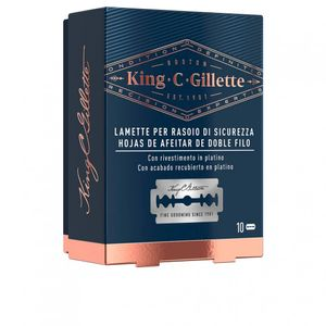 Image for Gillette King double edge replacement blades x 10 Stück