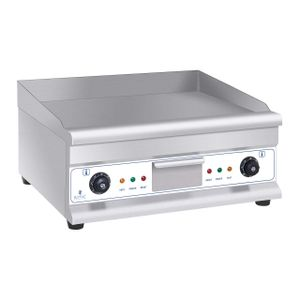 Image for Royal Catering RCG 60H2 Tischgrill Doppel Grillplatte Länge 60 cm