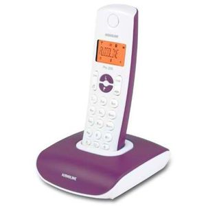 Image for Audioline Pro 200 Analog-Telefon violett
