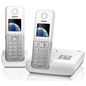 Image for Gigaset C300A Duo Analog-Telefon weiß