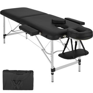 Image for Tectake 2 Zonen Massageliege mit Polsterung und Aluminiumgestell